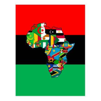 Postal Panafricano soy más que el diseño del techo de