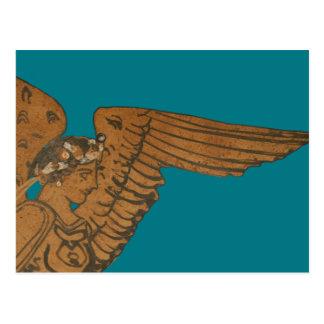 Postal Panoplia - el primer griego de Nike de la diosa
