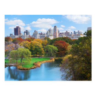 Postal Panorama del Central Park de New York City