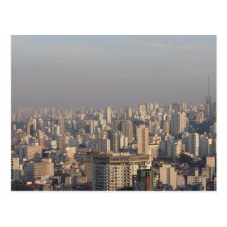 Postal Panorámico aéreo - Sao Paulo