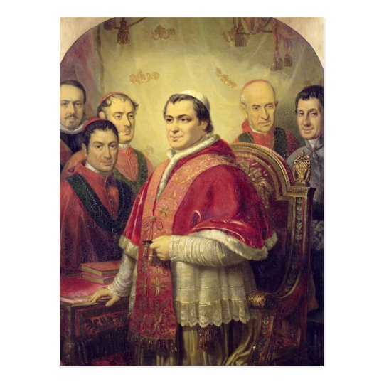 Postal Papa Pío IX 1847