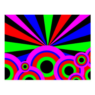 Postal Papel pintado del RGB