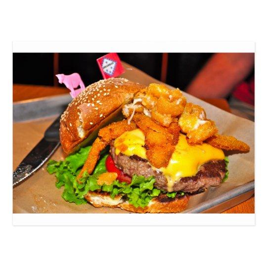 Postal Para el amante de la hamburguesa en su vida