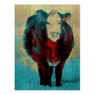 Postal Para el amor de vacas