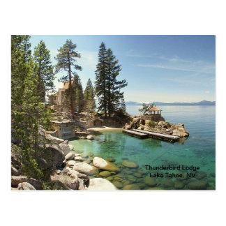 Postal Paraíso @ el lago Tahoe, Nevada