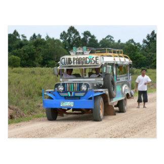 Postal Paraíso Jeepney del club