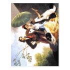 Postal ¿Parasol Espa de Francisco de Goya The? ol: