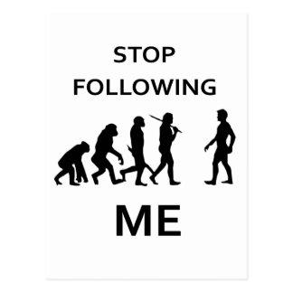 Postal pare el seguir de mí