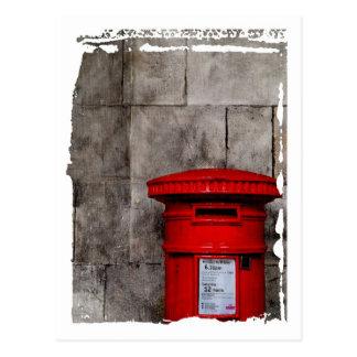 Postal Pared y buzón de correos