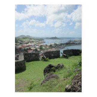 "Postal Paredes ""St. Maarten "" del terraplén de Louis del"