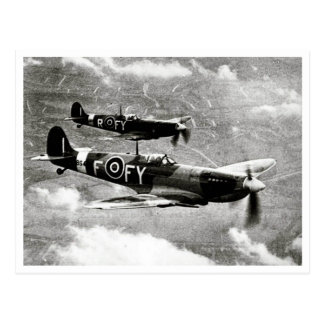 Postal Pares del Spitfire