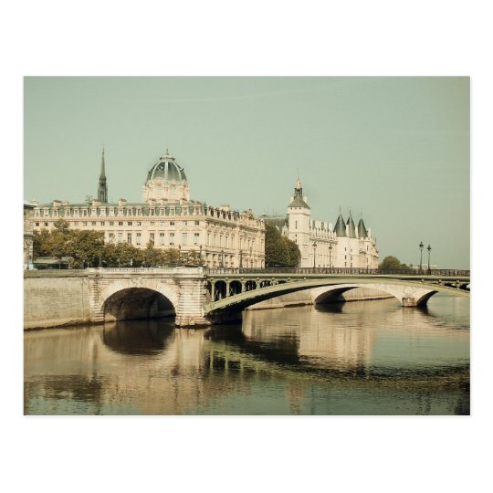 Postal Paris, bridges of love