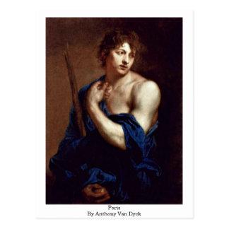 Postal París de Anthony Van Dyck