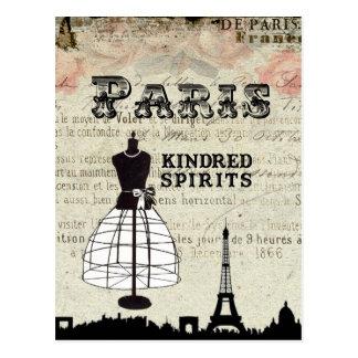 Postal París e I