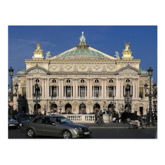 Postal París - Op�ra nacional -