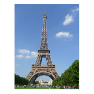 Postal París - Torre Eiffel -