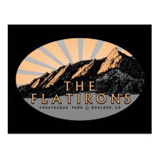 Postal Parque Boulder Colorado de Flatirons Chautauqua