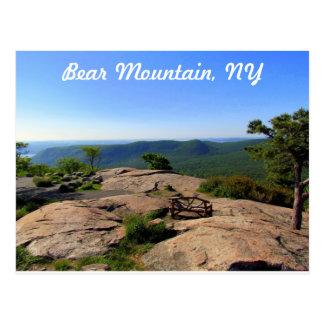 Postal Parque de estado de la montaña del oso