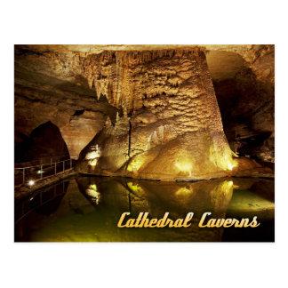 Postal Parque de estado de las cavernas de la catedral,