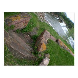 Postal Parque de estado partido de Rock Creek Garretson,