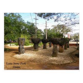 Postal Parque de piedra de Latte