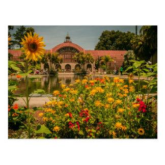 Postal Parque del balboa del jardín botánico