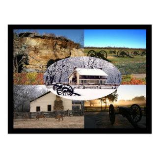Postal Parque militar nacional de Ridge del guisante