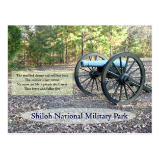 Postal Parque militar nacional de Shiloh