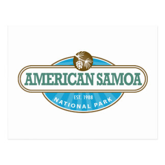 Postal Parque nacional de American Samoa