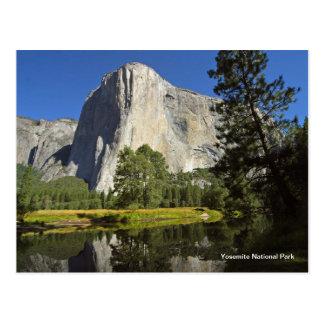 Postal Parque nacional de Yosemite