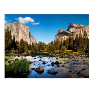 Postal Parque nacional de Yosemite, California