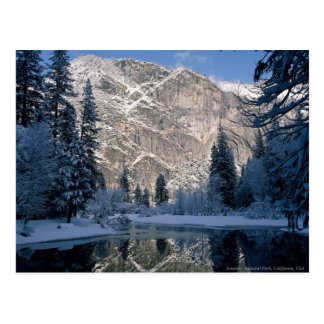Postal Parque nacional de Yosemite, California los