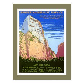 Postal Parque nacional de Zion