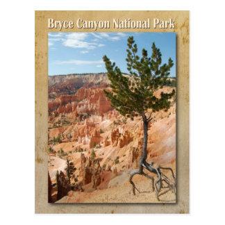 Postal Parque nacional del barranco de Bryce, Utah