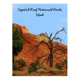 Postal Parque nacional del filón del capitolio, Utah