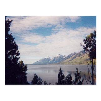 Postal Parque nacional magnífico de Tetons
