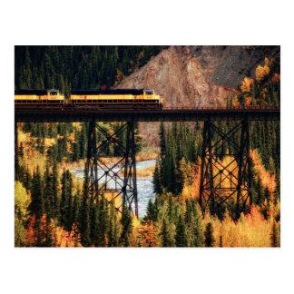 Postal Parque nacional y coto los E.E.U.U. Alaska de