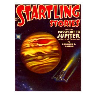 Postal Pasaporte a Júpiter