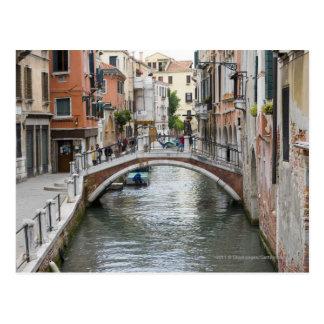 Postal Pasarela en Venecia