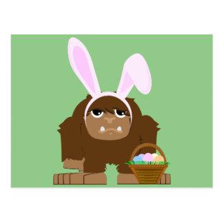 Postal Pascua linda Bigfoot