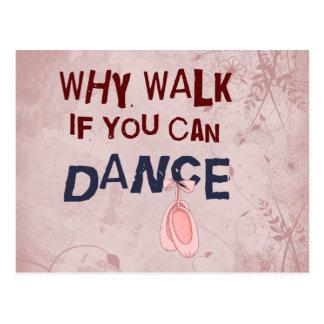 Postal Paseo del don´t de la danza
