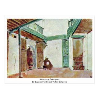 Postal Patio marroquí
