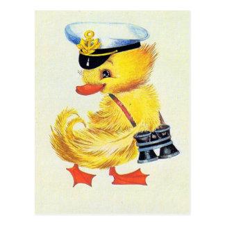 Postal Pato de Pascua