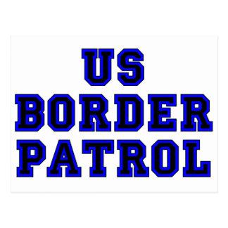 Postal Patrulla fronteriza de los E.E.U.U.