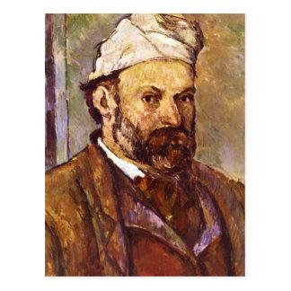 Postal Paul Cezanne - autorretrato