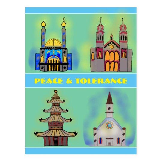 Postal Paz y tolerancia