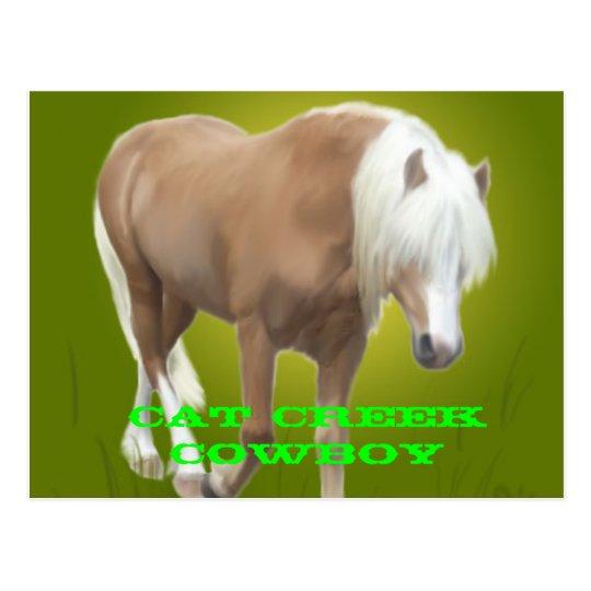 Postal PC del vaquero de la cala del gato