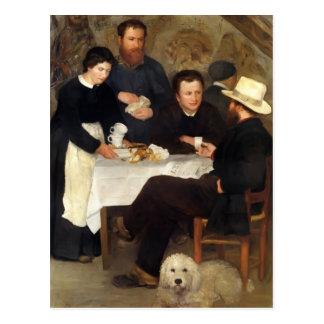 Postal Pedro-Auguste Renoir- el mesón de la madre Anthony
