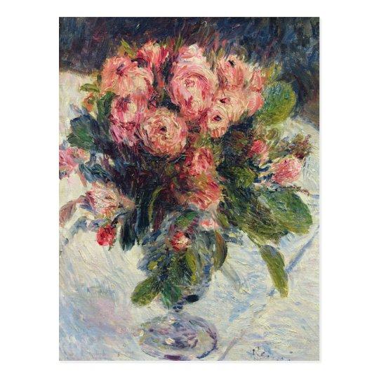 Postal Pedro Musgo-Rosas de Renoir un |