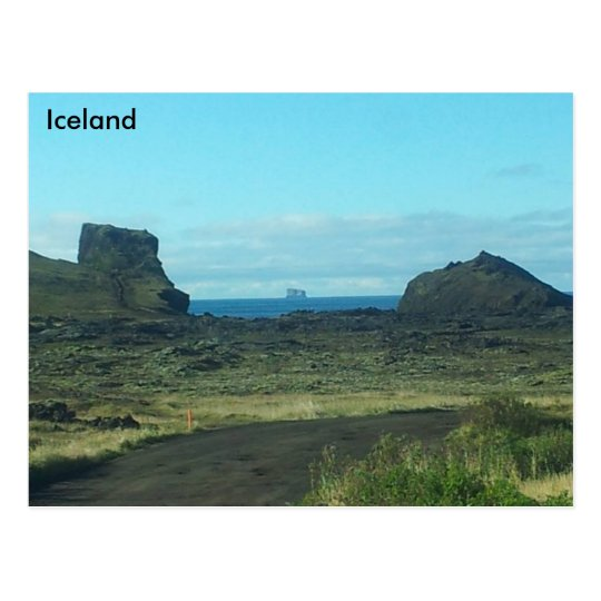 Postal Península de Reykjanes, Islandia